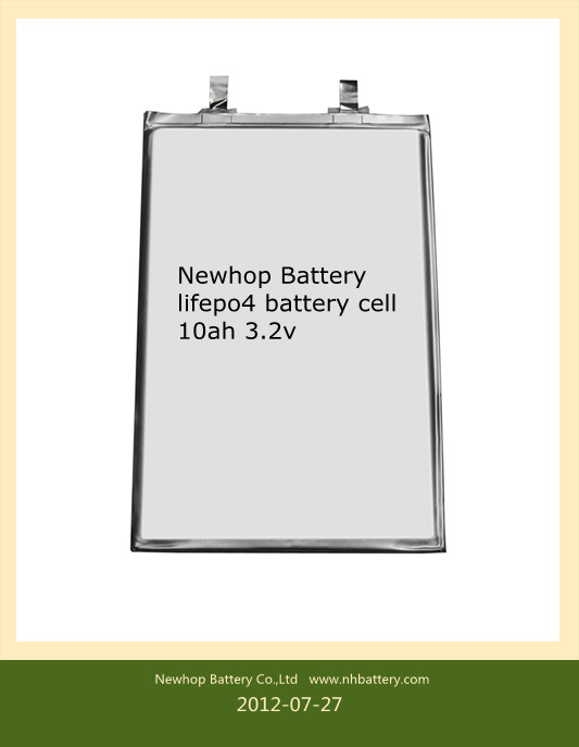 lifepo4 battery cell 10ah 3.2v