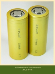 cylindrical lifepo4 battery cell